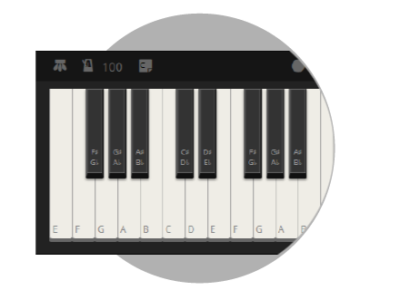 Online piano recorder