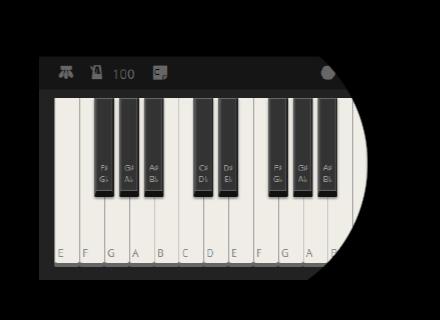 Online piano recorder