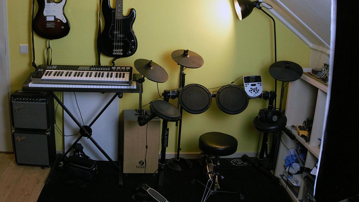 Martijn Darwinkel e-drum kit